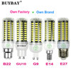 More bright SMD5736 LED corn bulb E27 LED E14 LED G9 LED GU10 LED B22 3w 4w 5w 7w 10w led lamp 90-260V SMD5730 candle spotlight