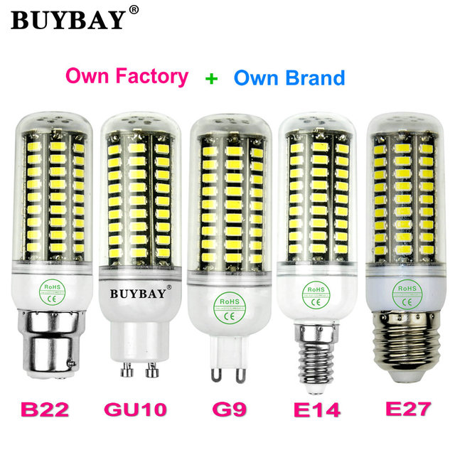 More brighter SMD5736 LED corn bulb E27 E14 LED lamp 3w 4w 5w 7w 10w light bulb AC90-260V candle lights spotlight bulbs