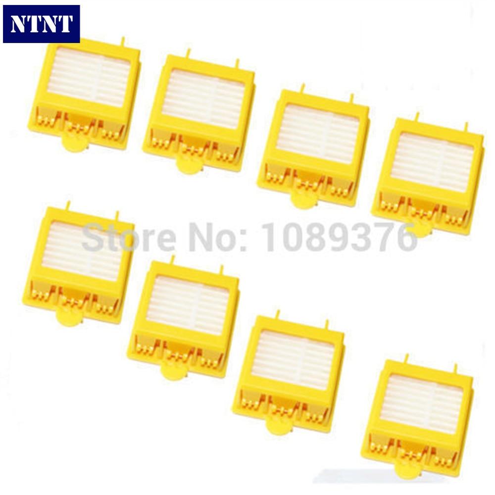 NTNT Free post New 8 x Hepa Filter filters kit for iRobot Roomba 700 Series 760 770 780 цены онлайн