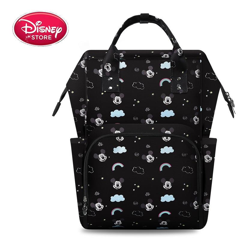 Disney Mommy Baby Care Diaper Bag Baby Organizer Disney Mickey Travel Backpack Stroller Bag Baby Bags for Mom Travel BackpackDisney Mommy Baby Care Diaper Bag Baby Organizer Disney Mickey Travel Backpack Stroller Bag Baby Bags for Mom Travel Backpack