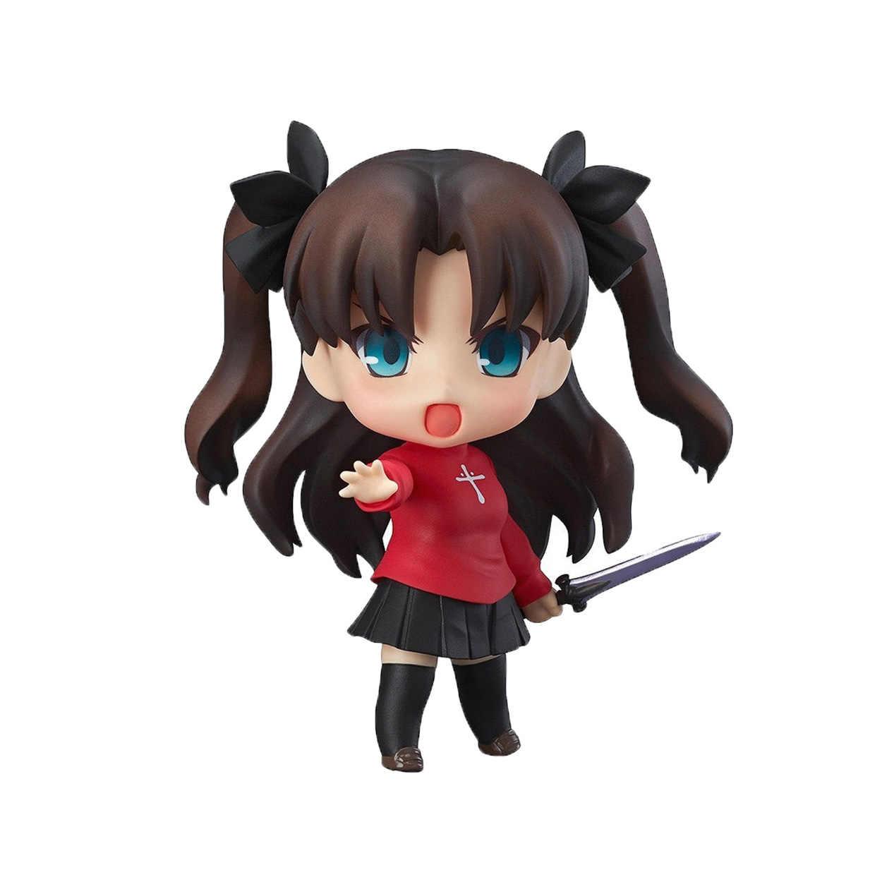 """Chanycore GSC Nendoroid 409 # destino noche estancia Tohsaka Rin Emiya Maestro de destino/cero Anime figura de acción de colección juguete 10 cm 4"""""""