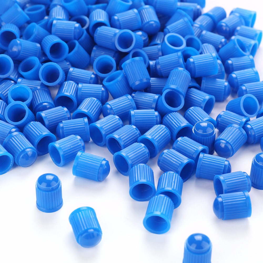 AUTO 100PCS HR168 Tubeless Tyre Wheel Stem Air Valve Caps Car Tire Valve Caps Auto Truck Bike MTB Dust Dustproof Caps in Valve Stems Caps from Automobiles Motorcycles