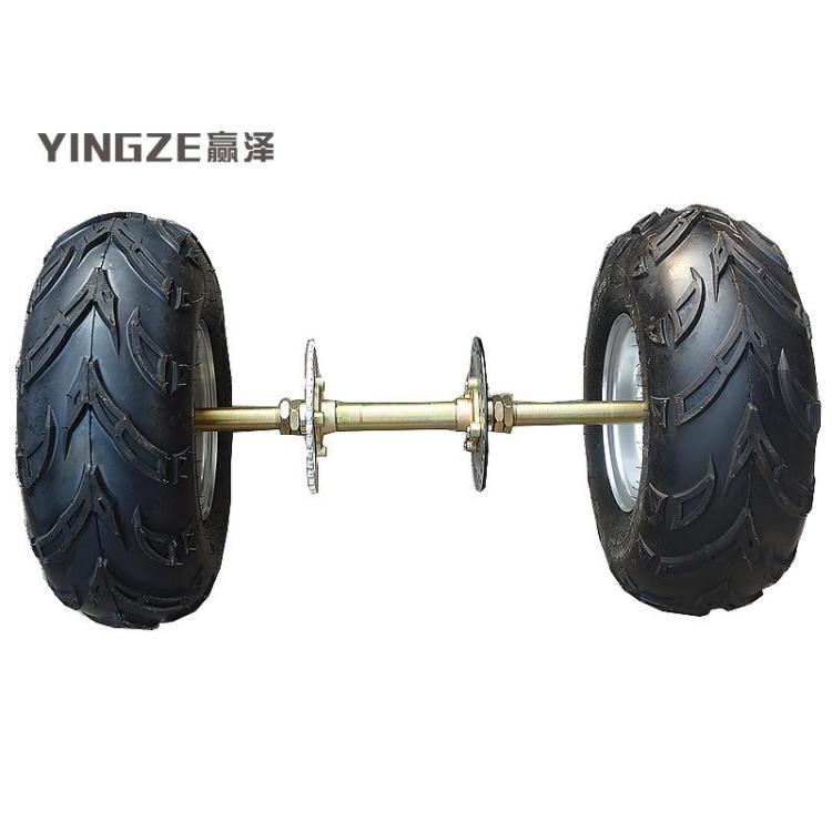 Atv,rv,boat & Other Vehicle Diy Four Wheel Go Kart Karting Atv Utv Buggy 81cm 23 Teeth Rear Axle
