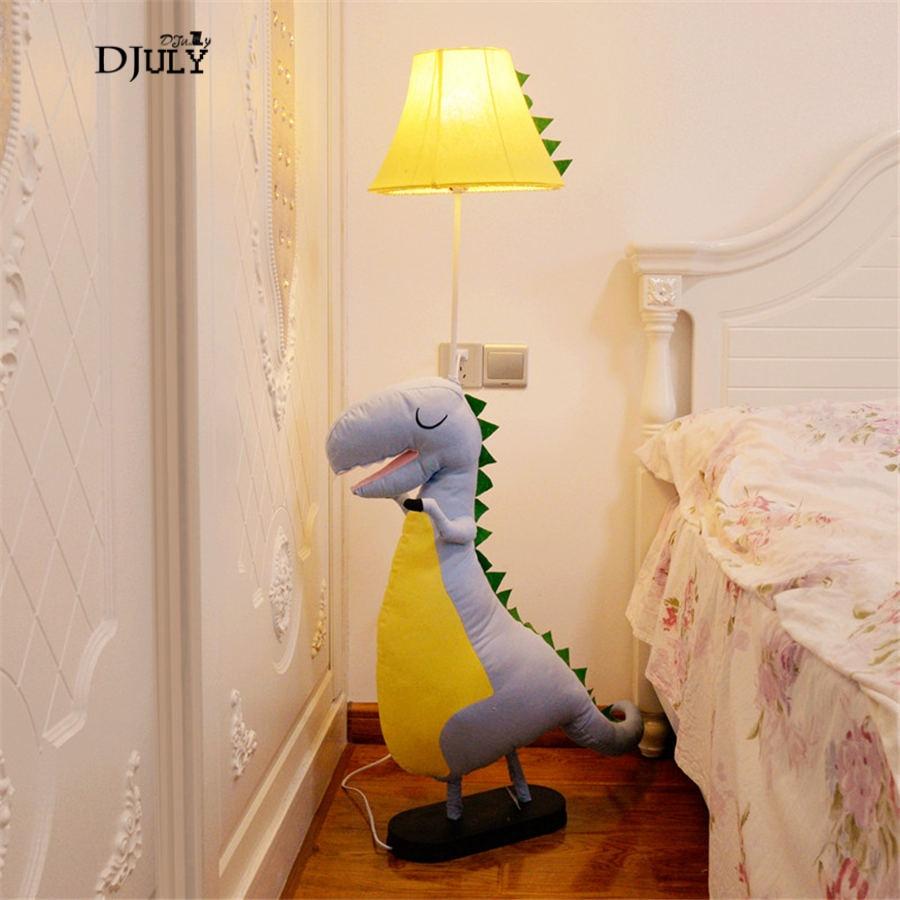 Cute Ragdoll Dinosaur Floor Lamps For