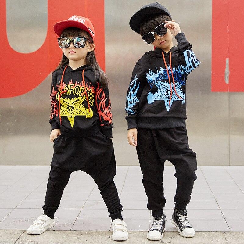 Costume de danse Jazz pour enfants vêtements de rue pour garçons vêtements de danse Hip Hop pour enfants