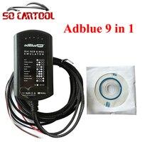 (10 UNIDS/LOTE) 9in1 Universal NO es NECESARIO NINGÚN SOFTWARE Adblue Emulador 9 en 1 Camión AdBlue Emulador Caja de dhl Envío Libre