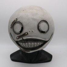 New Neil Mechanical Era Emil Latex Mask Head Cover Masquerade Halloween Horror Cosplay Prop