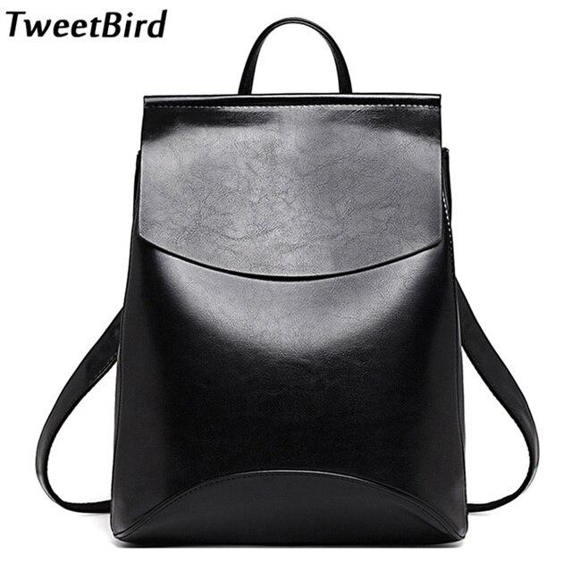 0667774d8ac3 Tweetbird новые модные женские туфли рюкзак высокое качество молодежь ПУ  кожаный рюкзак для подростков Обувь для
