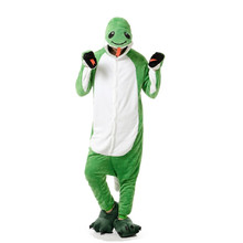 Adults Flannel Kigurumi Green Snake Animal Onesie Pajamas Halloween Carnival  sc 1 st  AliExpress.com & Buy adult snake costume and get free shipping on AliExpress.com