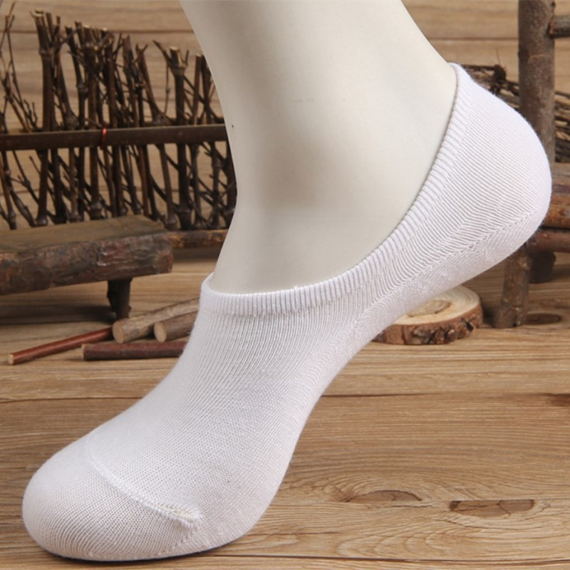 2Pairs/Lot New Fashion Unisex Comfortable Solid Cotton Sock Slippers Short Ankle Socks For Men Women Fashion Accessories