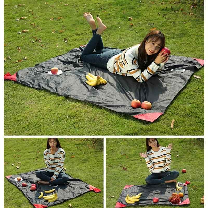 Alfombrilla de playa de Picnic de nailon impermeable plegable portátil al aire libre