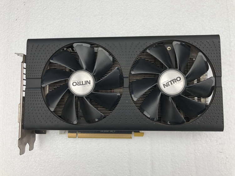 Used Sapphire RX 470 4G Overseas Used Desktop Display High-end Game Graphics