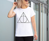 New Arrival Deathly Hallows Shirt Always Harry Potter Tshirt Tumblr Shirts Unisex Tee Hipster T Shirt