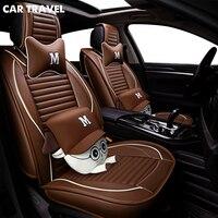 Из искусственной кожи Чехол автокресла для renault megane 4 nissan altima jac s2 ssangyong korando mazda 6 gg авто аксессуары автомобиль Стайлинг