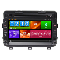 8 Capacitive Touch Screen Special Car DVD For Kia K5 Optima 2014 2015 2016 With DVR