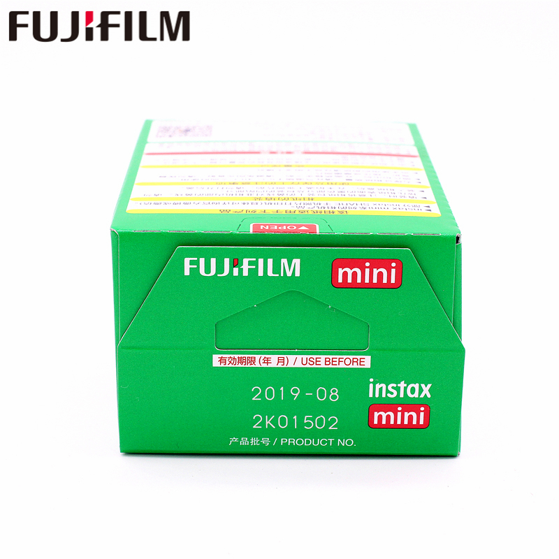Original 100 feuille Fuji Fujifilm Instax Mini 8 Film blanc papier Photo instantané pour 7 s 8 9 90 25 55 partager SP-1 SP-2 appareil Photo instantané - 4