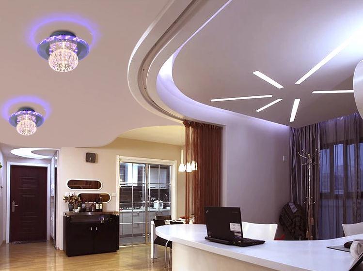 5W თანამედროვე LED- ით ჭერის - შიდა განათება - ფოტო 3
