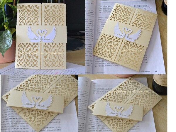 tarjetas de invitacin creativa amor cisne weddign tarjetas tarjetas de amor de la boda