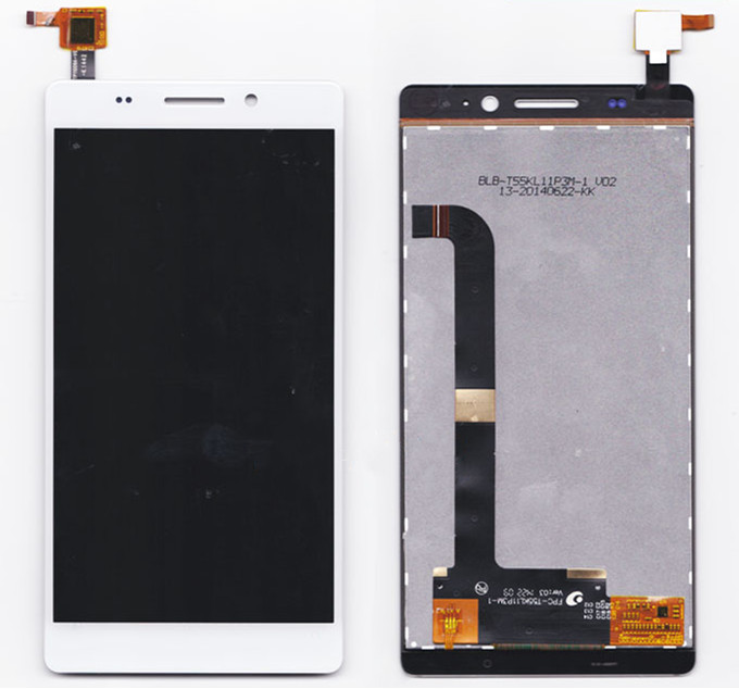 white touch panel For Highscreen Spade LCD Display+Touch Screen Digitizer Panel Assembly Replacement Part Free shipping