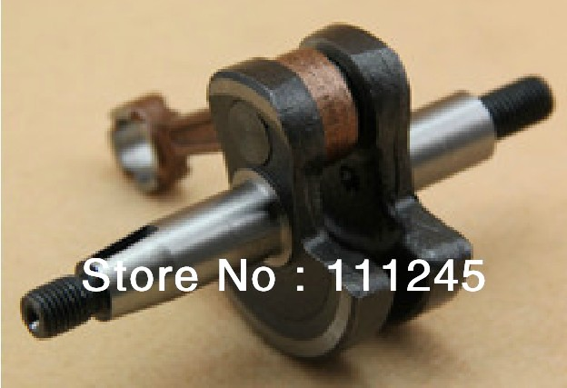 CRANKSHAFT  FOR ZENOAH G26L BC2601 FREE SHIPPING TRIMMER  CHEAP BRUSHCUTTER CRANK MAIN SHAFT  REPL. KAMATSU P/N 550042001 стоимость