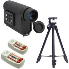 New 6X32 Night Visions Infrared IR Monocular Scope Scout Laser Rangefinders for Hunting+Tripod+Battery Charging Kits