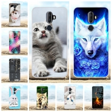 For Alcatel 3V Protective Case Ultra Thin Soft TPU Silicone Cover Animal Patterned Bumper Funda