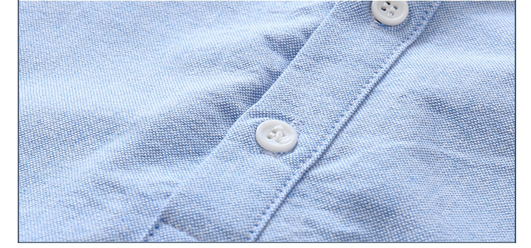 Kids Birthday Gift Clothes 2018 Summer Fashion Cotton White Blue Color Cartoon Dog Print Short Sleeve Mandarin Collar Boys Shirt (12)