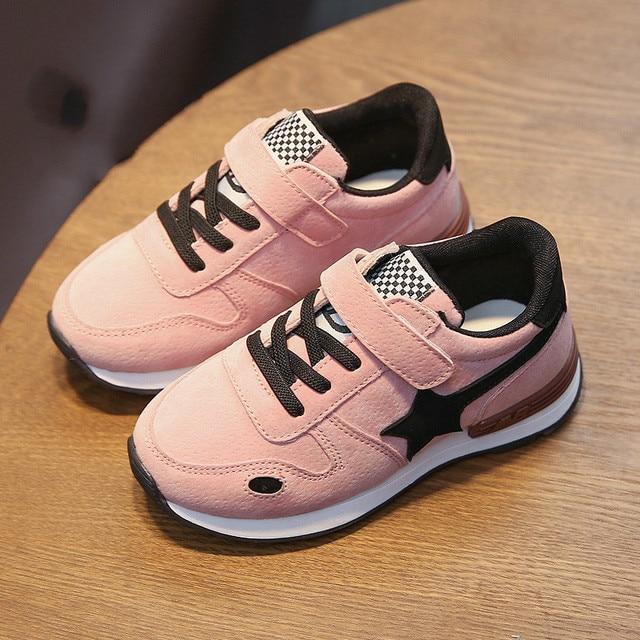 premium selection 5dd63 d7258 US $12.0 |Neue Frühling Kinder Schuhe Mädchen Sportschuhe Freizeitschuhe  Schuhe Koreanische Junge Sterne in Neue Frühling Kinder Schuhe Mädchen ...