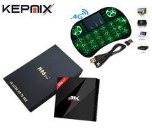 Android TV Box H96 Pro Plus +1pcs I8 Keyboard Amlogic S912 3GB+32GB Quad Core 4K WiFi H.265 Mini PC Smart TV Box set top box