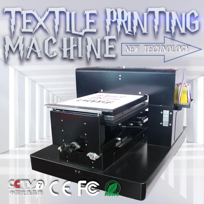 31 градусов, поставленные зоводами непосредственно машина A3 Размеры dtg планшетный принтер для Одежда с рисунком футболка с текстильной черн