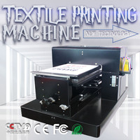 31 Degree T Shirt Printing Machine A3 Size dtg Flatbed Printer Machine for Print Clothes T Shirt with Textile Ink