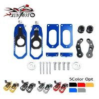 Motorcycle Part Chain Adjusters Tensioner Catena w/ Spool For 2008 2019 2010 2011 2012 2013 2014 2015 2016 Yamaha YZF R6 YZF R6