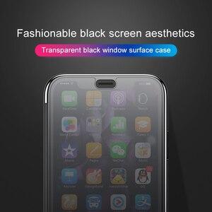 Image 5 - Прозрачный чехол Baseus для телефона iPhone XS Max XR, защитный чехол из закаленного стекла с полным покрытием для iPhone Xs XR Xs Max