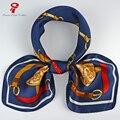 Bufanda de seda 100% Satén de Seda Bufanda Cuadrada femenina cuello bandana Bufanda Mujeres Chales bufandas y Abrigos de la Marca De Lujo Del Pelo Del Abrigo de La Bufanda hijab