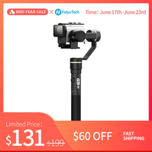 FeiyuTech G5GS 3-Axis Splash-proof Gimbal Handheld Stabilizer for Sony Action Camera AS50 AS50R Sony X3000 X3000R 130g-200g