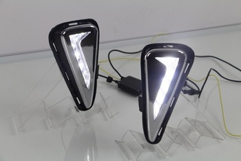 led drl daytime running light for toyota camry 2015-16, with yellow turn signals, top quality