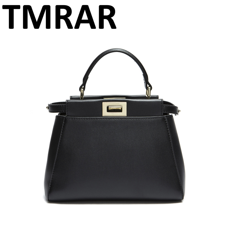 2017 New design 3 sizes classic tote peekaboo women split leather handbags lady bag shoulder bags for female bolsas qn059 2017 new classic large tote with lock lady messenger bags genuine leather handbags women shoulder bag for female bolsas qn048