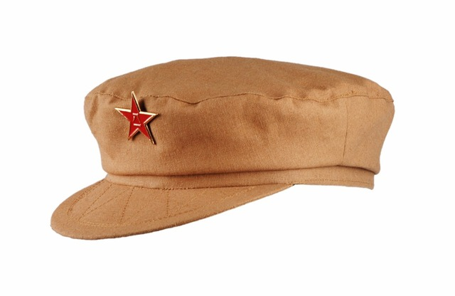 CHINESE ARMY MILITARY OFFICER TYPE 50 COTTON HAT CAP IN SIZES-in ... accb0e74583