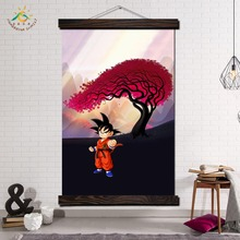 Dragon Ball Anime Wall Art Canvas Poster and Print Scroll Prints Painting Decorative Picture Home Decor for Living Room
