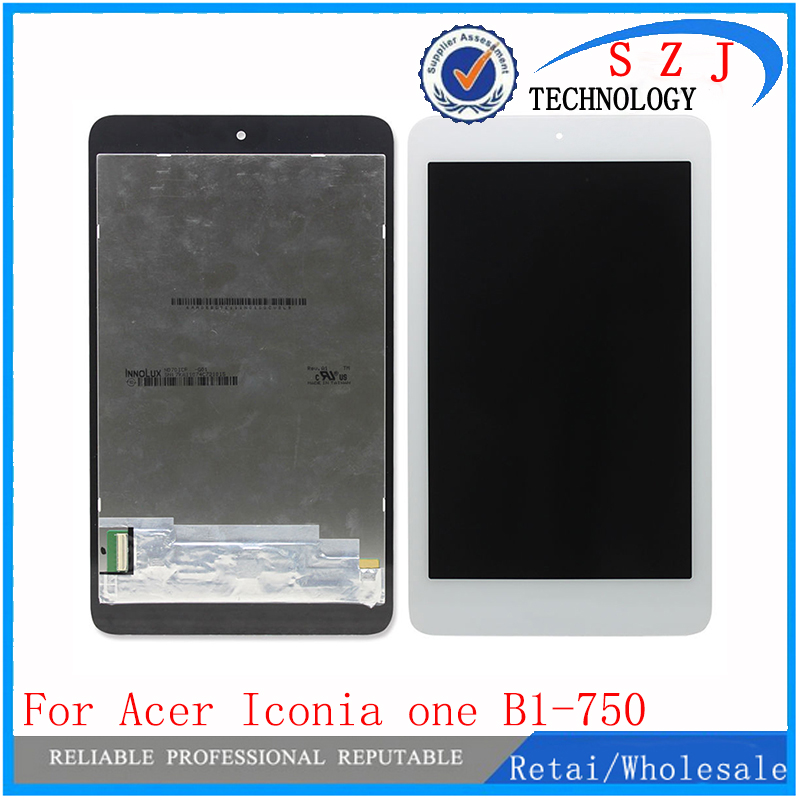 New 7'' inch For Acer Iconia one 7 B1-750 B1 750 LCD Display+ Touch Panel Screen Digitizer Glass Assembly Free Shipping 7 with frame for iconia one 7 b1 760 lcd display touch screen digitizer glass assembly free shipping