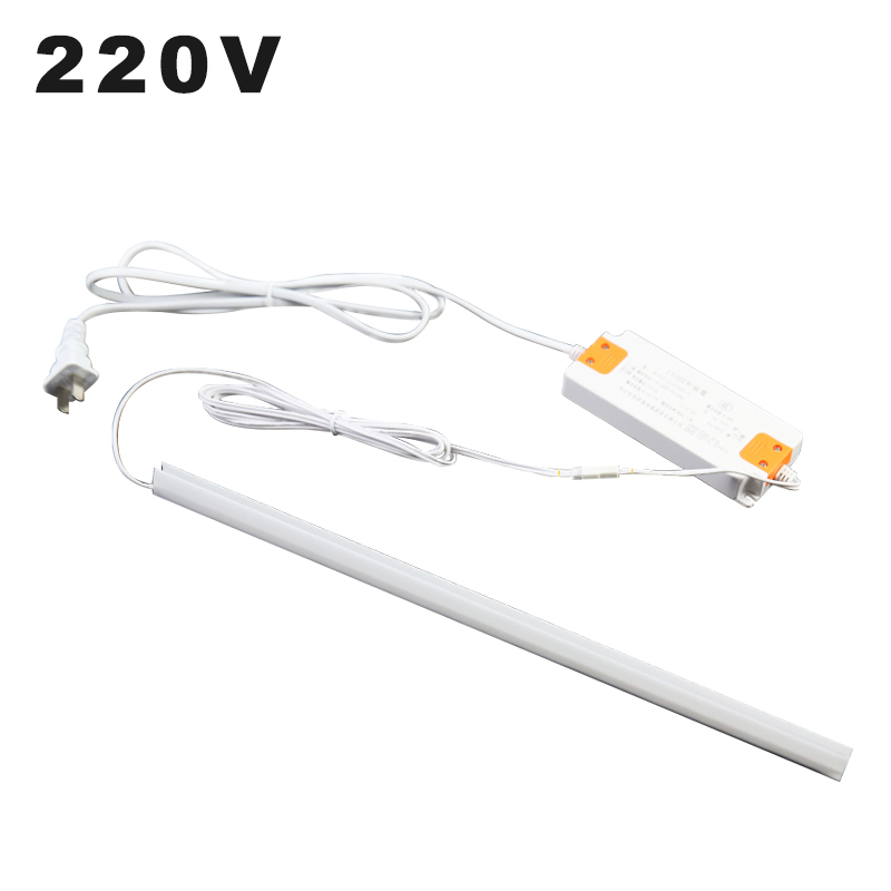110V 220V LED Cabinet Light 30CM 40CM 50CM Motion Sensor Lamp Hand Waving Scan Strip Light For Wine Cabinet Collectables Display