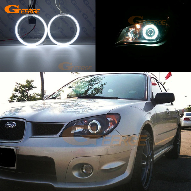 For Subaru Impreza 2006 2007 Excellent Ultra bright illumination CCFL Angel Eyes kit Halo Ring subaru traviq главный тормозной