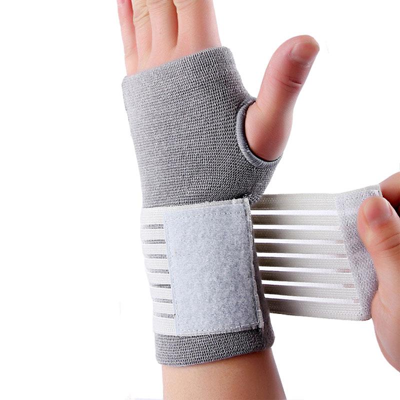 Pflichtbewusst Elastische Sicherheit Karpaltunnel Armband Sport Unterstützung Handgelenk Band Hand Verstauchung Wraps Strap Bandage Brace Tennis Training Bands Sport & Unterhaltung
