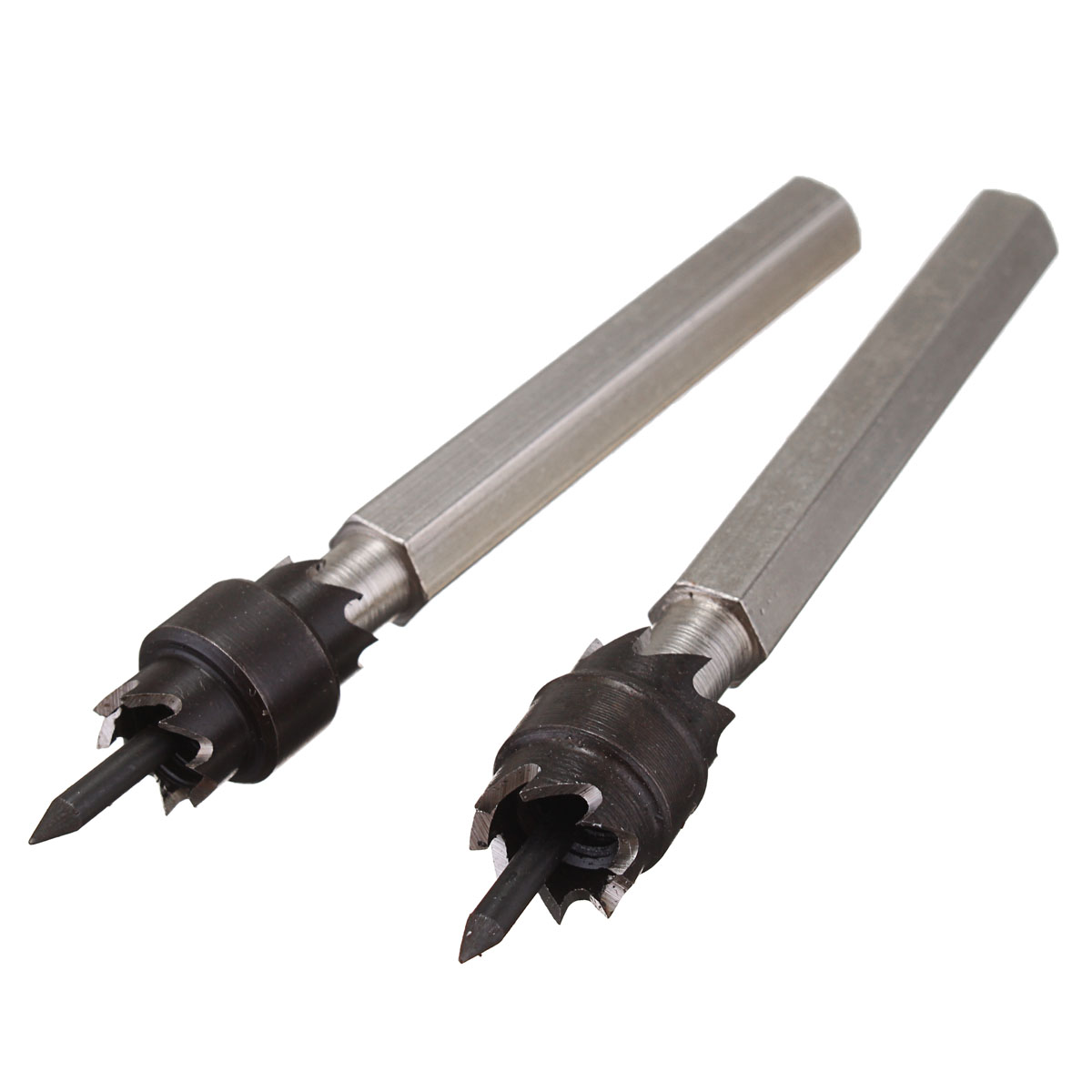 2Pcs 3/8'' HSS Double Sided Rotary Spot Weld Cutter Remover