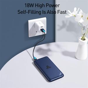 Image 5 - Baseus 10000 Mah Power Bank Grote Capaciteit Draadloze Oplader Powerbank PD3.0 QC3.0 Snel Opladen Draagbare Externe Batterij Oplader