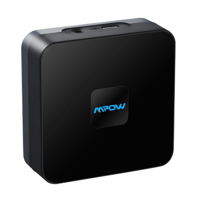 Mpow BH070 Bluetooth 4.1 Receiver Wireless Audio Adapter 15h Working Time With 3.5mm/RCA/Micro USB Port For Car Home Speaker