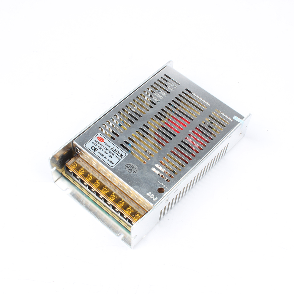 DIANQI J-240-24 24V 10A 240W switching power supply LED Strip Light power supply 24V 10A 240W transformer 100-240V худи print bar гомер зомби