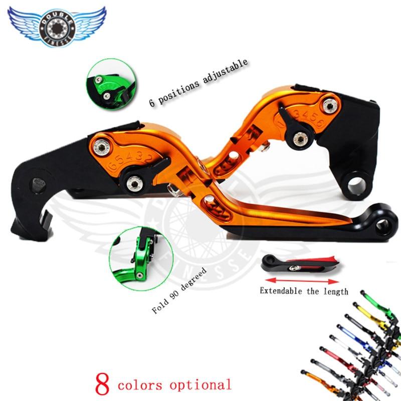 ФОТО brake clutch levers adjustable  CNC brake lever FOR BMW HP4 K 1200 GT K 1200 LT R S G 650 Xcountry R 1200 ST S 1000 R S 1000 RR