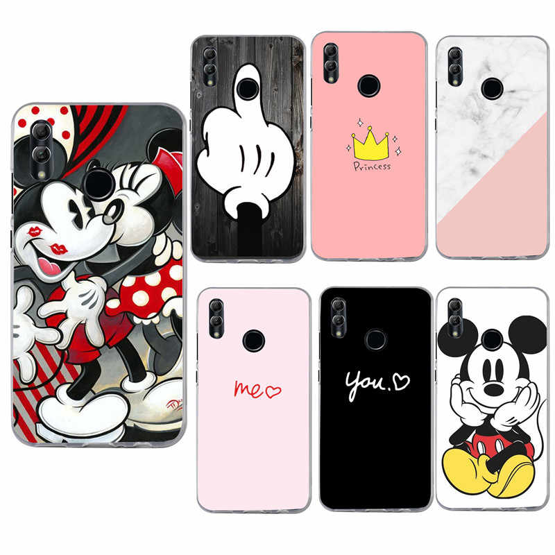 Silicone Case for Huawei Honor 10 Lite Soft TPU Phone Cover for Mate 20 10 P20 lite Pro Y6 2018 P Smart 2019 Transparant Capas