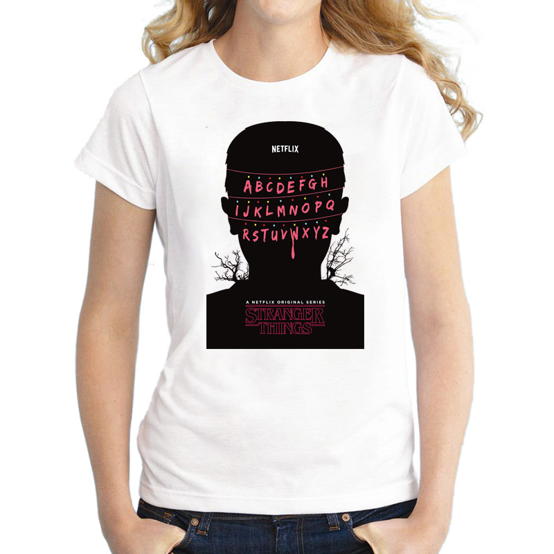 Stranger things T shirt women instagram fashion t shirt moletom do tumblr t shirt fashion women t shirt tees